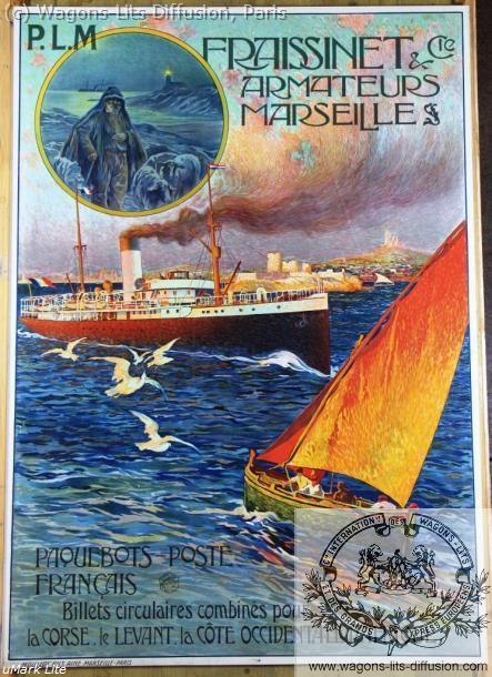 PLM Fraissinet Armateurs à Marseille