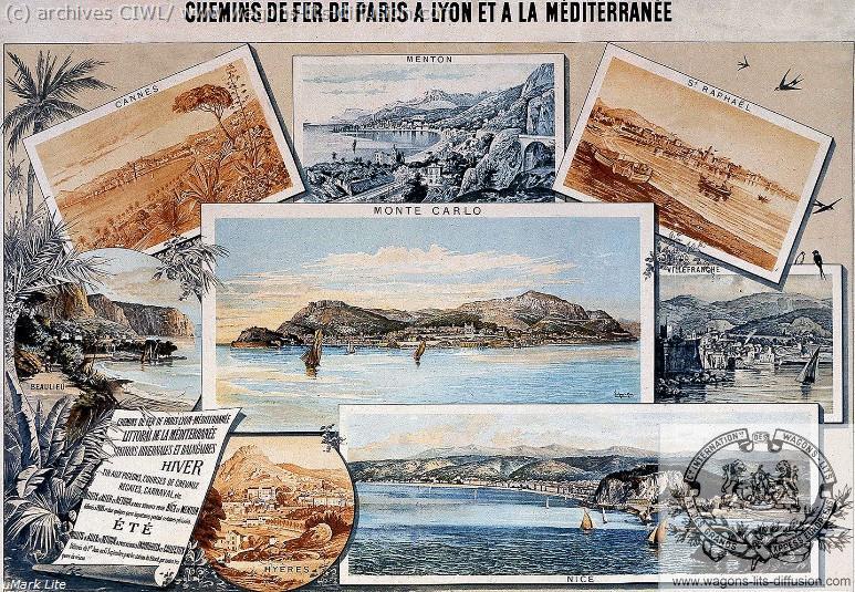 PLM fresque littoral  (ref N° 919)