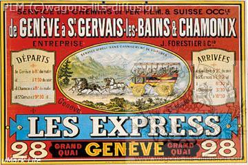 PLM Genève Les express Suisse (ref N° 359)