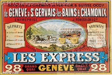 PLM Genève Les express Suisse