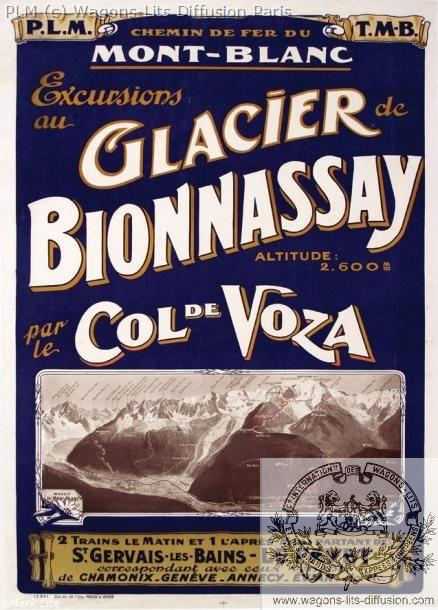 PLM Glacier du Bionnassay Col de Voza (Ref N° 369