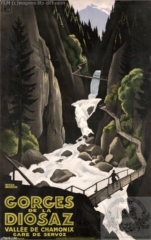 PLM gorges-de-la diosaz vallee-de chamonix (Ref N° 371