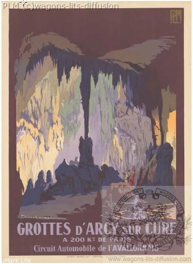 PLM Grottes d'Arcy sur Cure (ref N° 390)