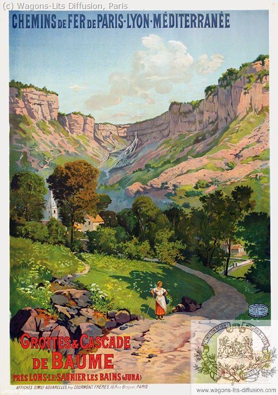 PLM Grottes de Baume Jura Ref 1002
