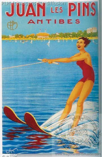 PLM Juan Les Pins Ski Nautique (Ref N° 415