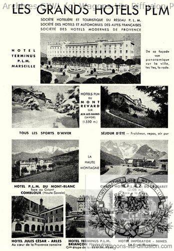 Plm liste des hotels plm
