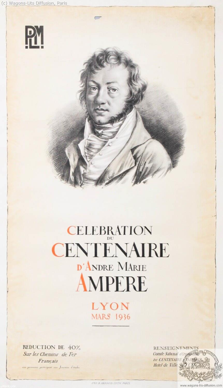 PLM Lyon Centenaire d'Ampère Ref 1114