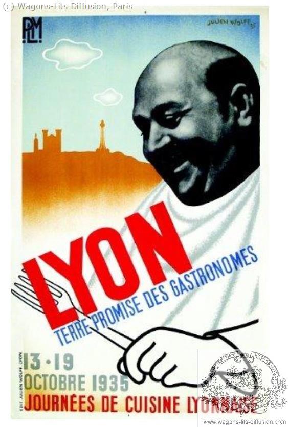 PLM Lyon Gastronomes Ref 1027