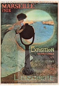 PLM Marseille Exposition 1908 (Ref N° 499