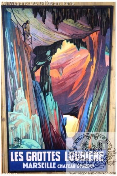 PLM Marseille Grottes de la Loubiere Ref 1019