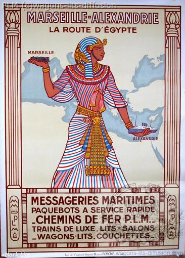 PLM Marseille Messageries Maritimes