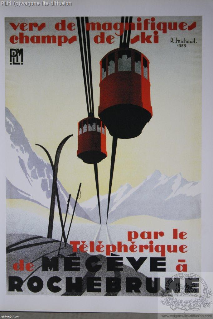 PLM Megève telepherique