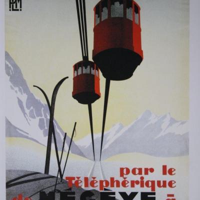 PLM Megève telepherique (Ref N° 513