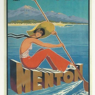 PLM Menton Cote Azur stations d Eté Ref N° 529