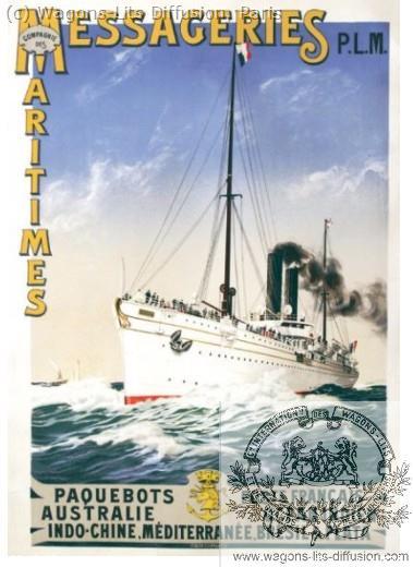 PLM Messageries Maritimes Ref 985
