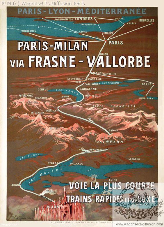 PLM Milan via Vallorbe (Ref N° 541
