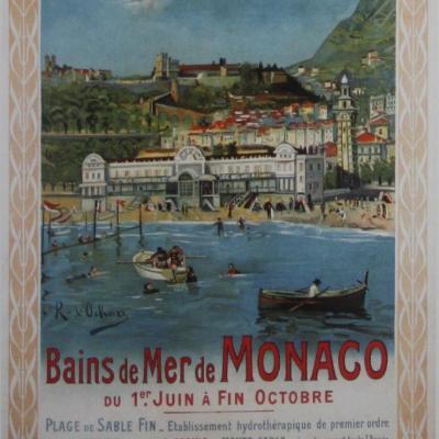PLM Monaco Bains de mer (Ref N° 545