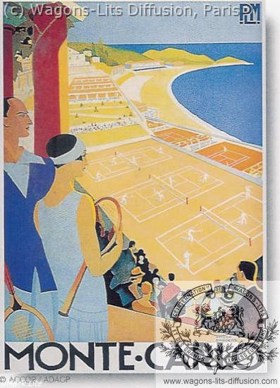 PLM MONACO Tennis (Ref N° 549