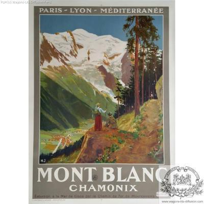 PLM mont blanc chamonix  2 (Ref N° 184