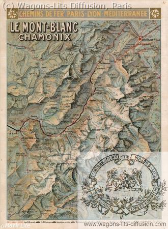 PLM MONT BLANC CHAMONIX Ref 994