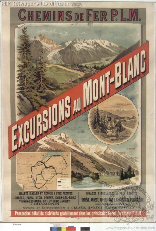 PLM mont blanc EXCURSION