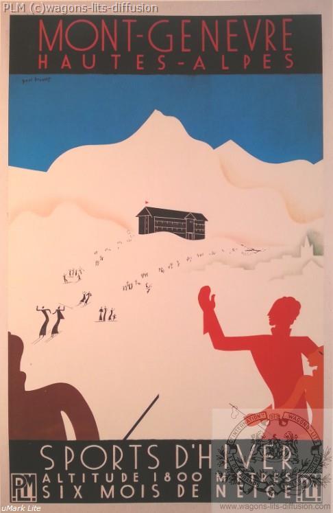 PLM Mont Genevre (ref N° 571)