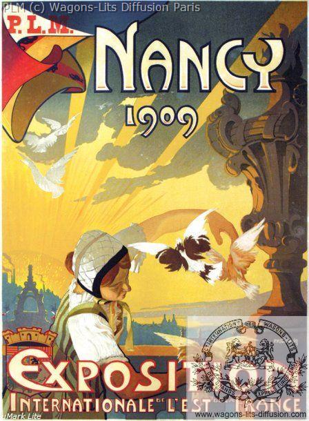 PLM Nancy 1909 Exposition Internationale ref N° 591
