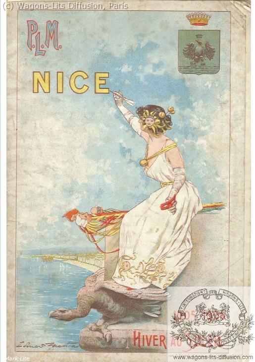 PLM Nice Guide touristique 1905 Nice Ref 1046