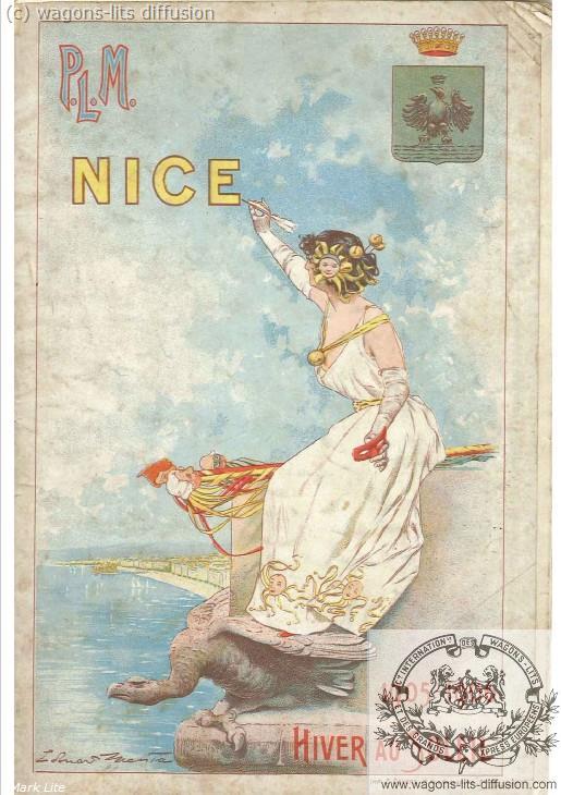 PLM Nice Guide touristique 1905 Nice (Ref N° 1046