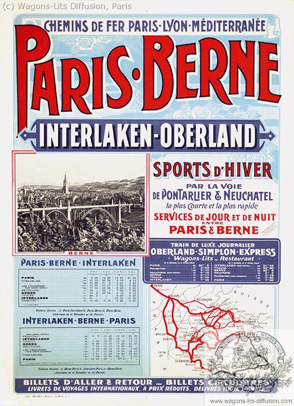 PLM Paris – Berne Ref 1092