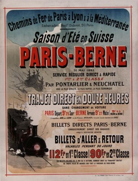 PLM Paris Berne Suisse