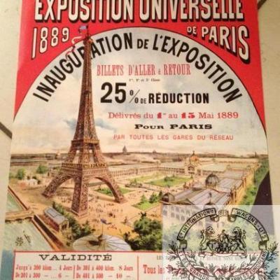 PLM Paris Expo universelle 1889 (Ref N° 634
