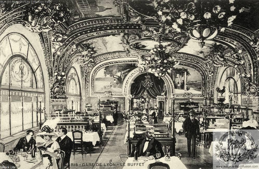 PLM Paris Gare de Lyon Le Buffet 5