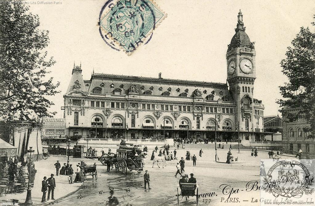PLM Paris Gare de Lyon PLM 1900
