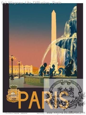 PLM Paris Grands Réseaux Ref 1016