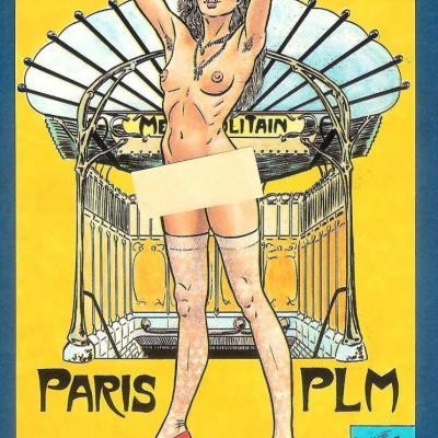 PLM Paris pastiche (ref N° 638)