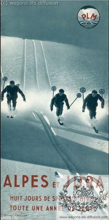PLM Pub Alpes Jura sports hiver (Ref N° 1049