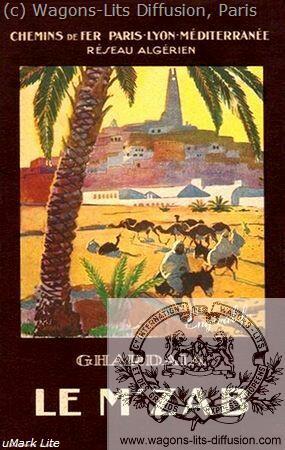 PLM Resau algerien LE M'ZAB Ref 959