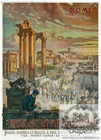 PLM Rome Colisée (Ref N° 410