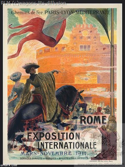 PLM Rome italie Expo Internationale