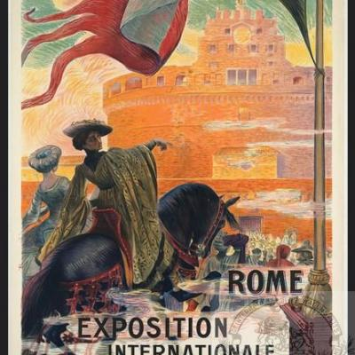 PLM Rome italie Expo Internationale (Ref N° 666