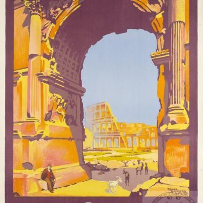 PLM rome-par rome express italie (Ref N° 663