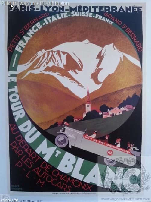 PLM Route des Alpes 1937