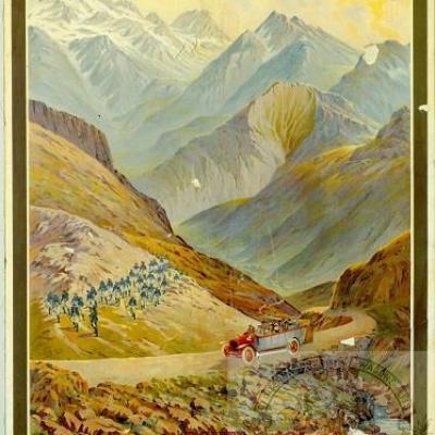 PLM Route des Alpes col de vars (Ref N° 687