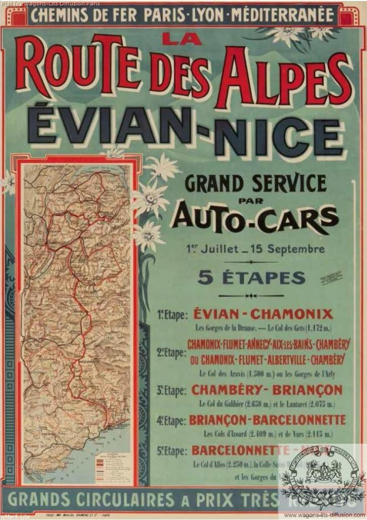 PLM Route des Alpes par Autocars