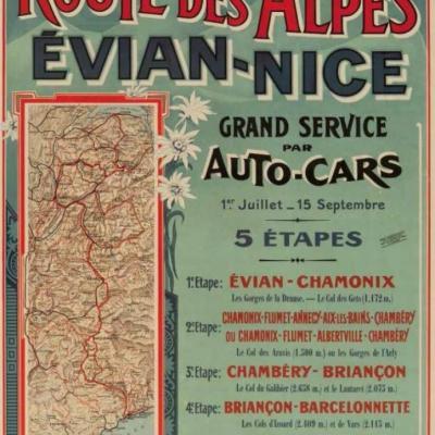 PLM Route des Alpes par Autocars (Ref N° 688