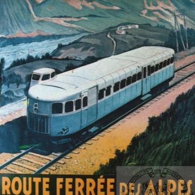 PLM ROUTE FERREE DES ALPES (Ref N° 700