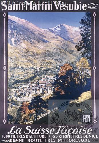 PLM Saint martin Vesubie (Ref 730)