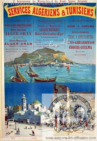 PLM Services algériens et tunisiens Ref 1081
