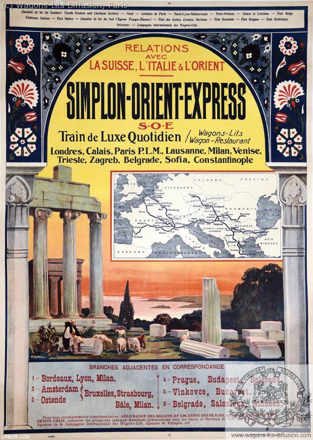 PLM Simplon-Orient-Express  Ref 1082